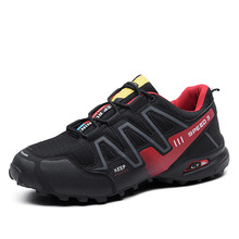 Men Outdoor Sneakers Trekking Hiking Shoes For Woodland Hunt