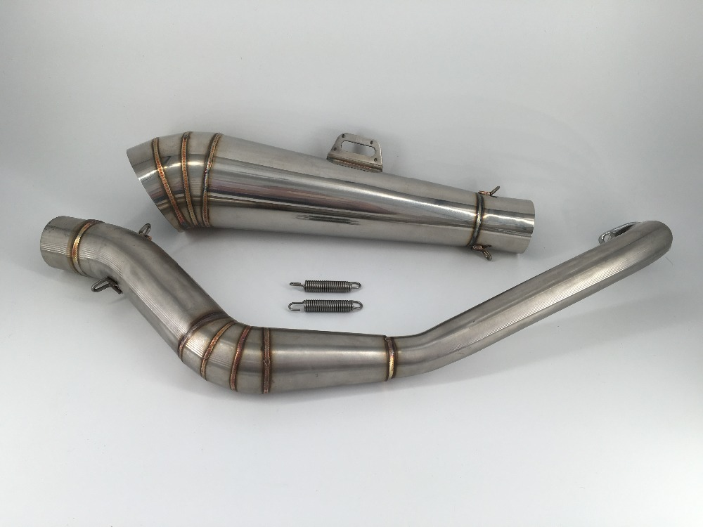 US $52 88 |Monkey Bike Z50 DAX Stainless GP Muffer good quality All the  Muffler for Monkey and DAX-in Exhaust & Exhaust Systems from Automobiles &