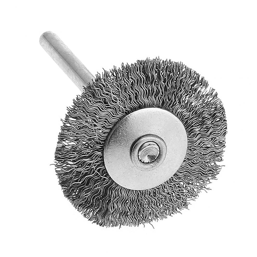 1pc Mini Polishing Steel Wire Brush with Handle and 25T Type for Cleaning / Grinding / Polished
