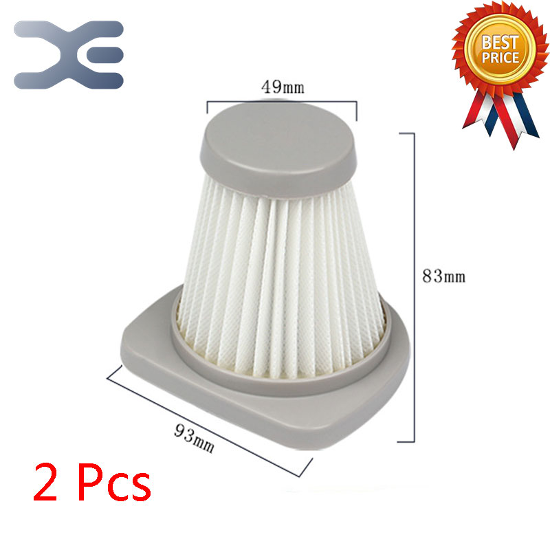 2Pcs Lot High Quality Compatible With For Midea Vacuum Cleaner Accessories SC861 SC861A  Filter HEPA Filter