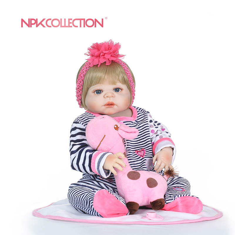 NPKCOLLECTION full silicone reborn girl body dolls soft silicone vinyl real gentle touch bebe new born real baby toys for kids npk new arrival full body silicoen bebe reborn girl dolls soft silicone vinyl real gentle touch bebe new born real reborn baby