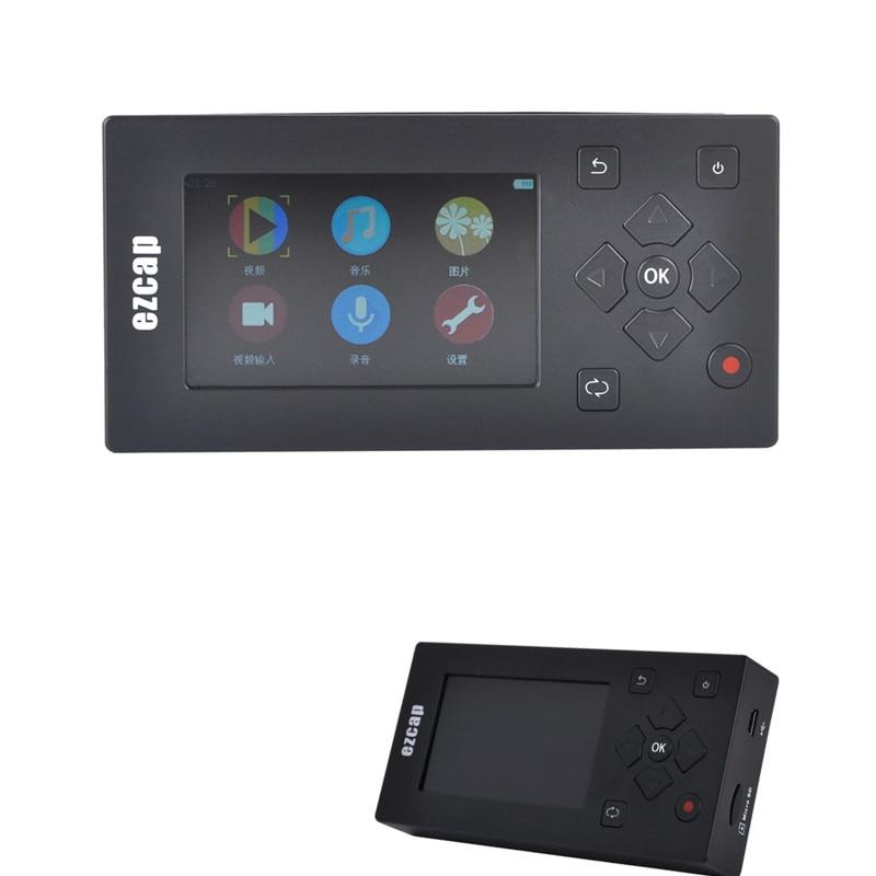 AV Audio Capture Card Recorder Box Audio Video Converter Convertire VHS/Videocamera Nastri MP3 MP4