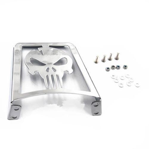 Motorcycle Skull Sissy Bar Luggage Rack For Harley XL883R Xl1200R Xlh883 Xlh1200 883 1200 худи print bar skull