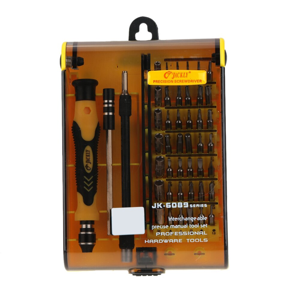 45-in-1 Screwdriver Set Fine Hardware Screw Driver Set Hand Tool Kit Interchangeable Manual Tool Set for Mobile Phone Hard Drive
