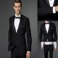 2018 hot selling side buttons, ventilation wool, suits, tails, men's jackets and pants