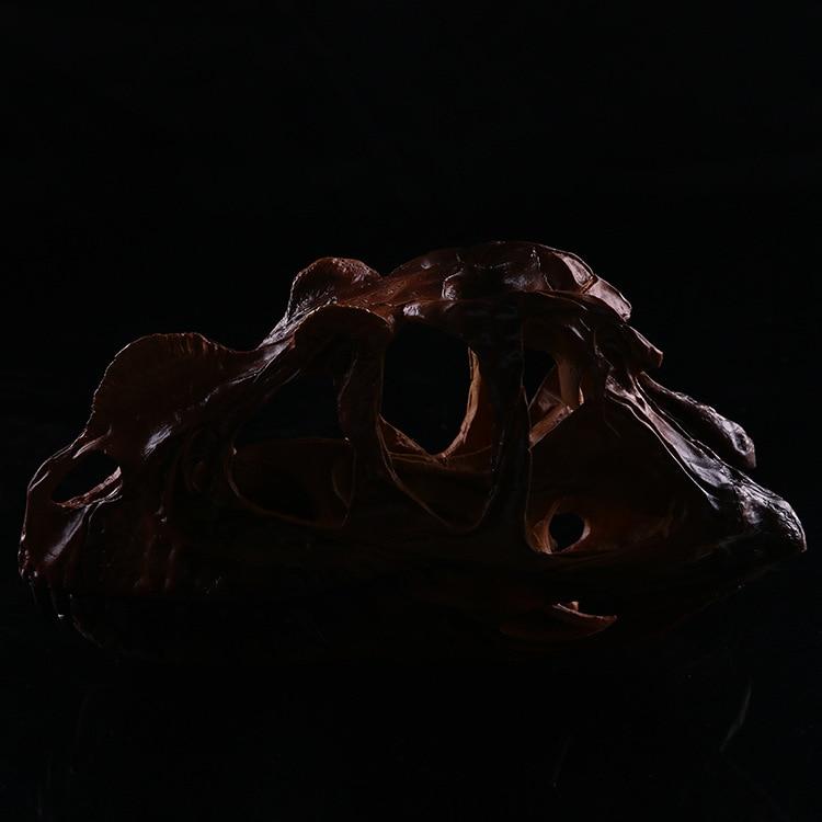 Realistic Dinosaur Skull Ceratosaurus Head Skeleton Model Drawing Class Prop