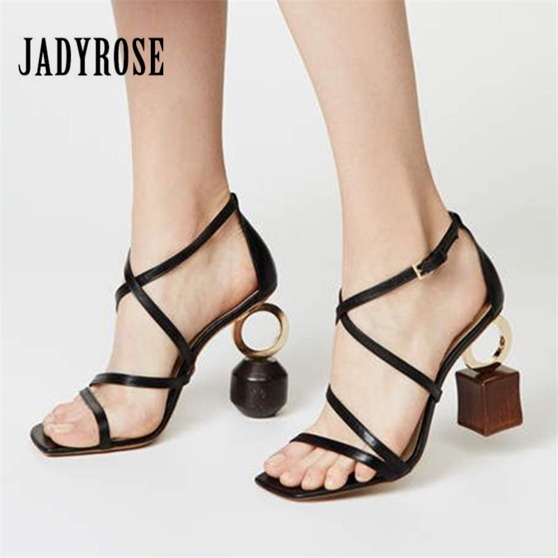 Jady Rose 2019 New Summer Women Sandals Strange High Heels Female Prom Dress Shoes Women Pumps
