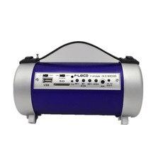 Pilas de Radio am fm radio Portátil FM Radio Altavoz Reproductor de música Con Soporte de Entrada de Tarjeta SD Disco USB FM radio