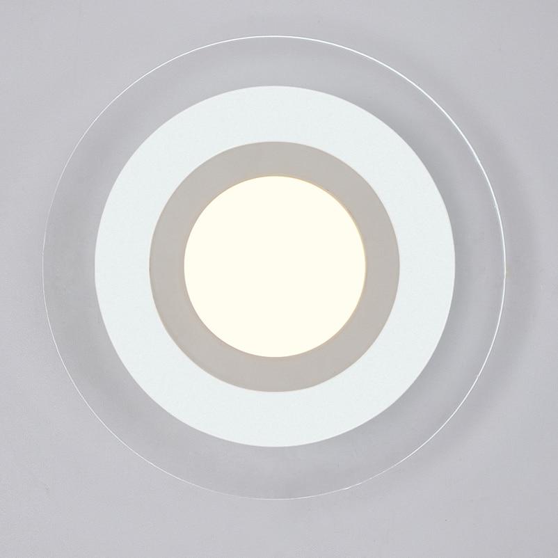 Naujos mados vadovaujamos sieninės lempos, akrilo liemenėlė, 10v - Vidinis apšvietimas - Nuotrauka 5