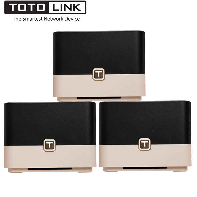 TOTOLINK T10 Whole Home Mesh Network Wireless AC1200 Dual Band Office Wi-Fi Router,High Speed Mesh System Wireless Wifi Repeater totolink ca750 750m dual band wireless потолок ap центр отель дом wifi полный охват