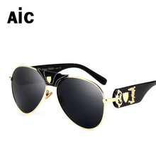 New Women  Colorful  Sunglasses Luxury Metal Eyeglasses Frame UV400 mirror  Sunglasses  Charm Girl  Eyewear  Lunettes De Soleil