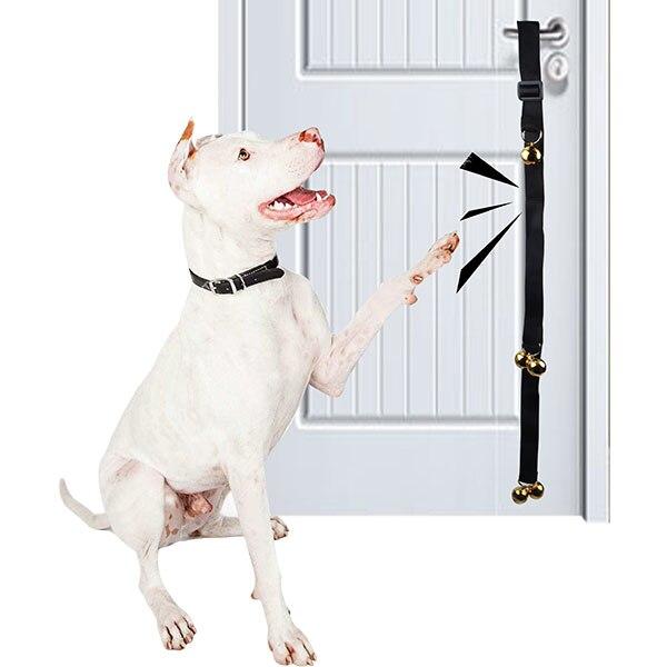 Greenwell Designs Dog Training Potty Door Bells Adjustable Dog House
