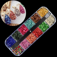 1set Crystal Gallet Rhinestones For Nails Jewelry  ...