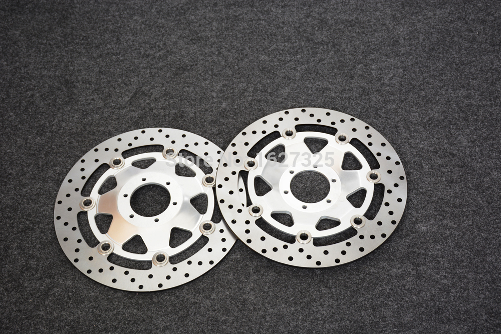 Brand new Motorcycle Front Brake Disc Rotors For honda GL1800 2001-2012 Correspondence year universal ring of fire blue brake disc rotors covers for honda goldwing gl1800 2001 2014