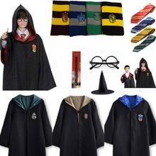 32becb0f31078c Dla Harris Potter dla dzieci dorosłych Gryffindor szata magia Ravenclaw  Hufflepuff Slytherin płaszcz krawat szalik różdżka