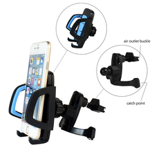 Retractable Air Vent Phone GPS Stand Cradle Suction Cup Holder