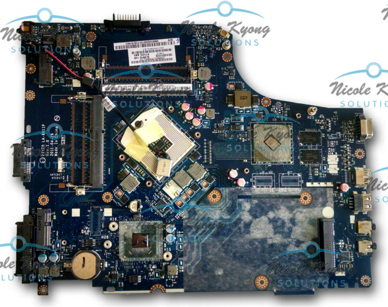 P7YE0 LA-6911P MB.BYP02.001 MB.BVV02.001 non-intergrated <font><b>MotherBoard</b></font> SYSTEM BOARD for <font><b>Acer</b></font> Aspire <font><b>7750</b></font> 7750G 7750Z image