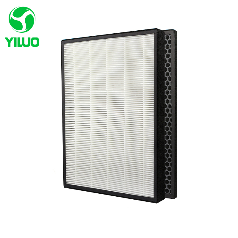 390*280 mm high efficiency collect dust hepa filter and activated carbon filter of air purifier parts for KjEZ200E ETC цена и фото