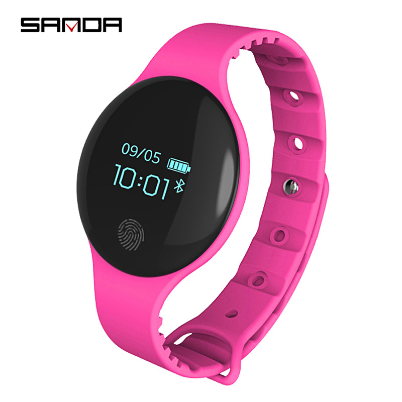 SANDA Kids Watches Bluetooth Pedometer-Tracker Clock Sports Smart for IOS Android Call