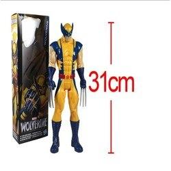 Новинка 2020, бесплатная доставка, экшн-фигурка супергероя Marvel X-men Wolverine из ПВХ, коллекционная игрушка 12 дюймов 31 см