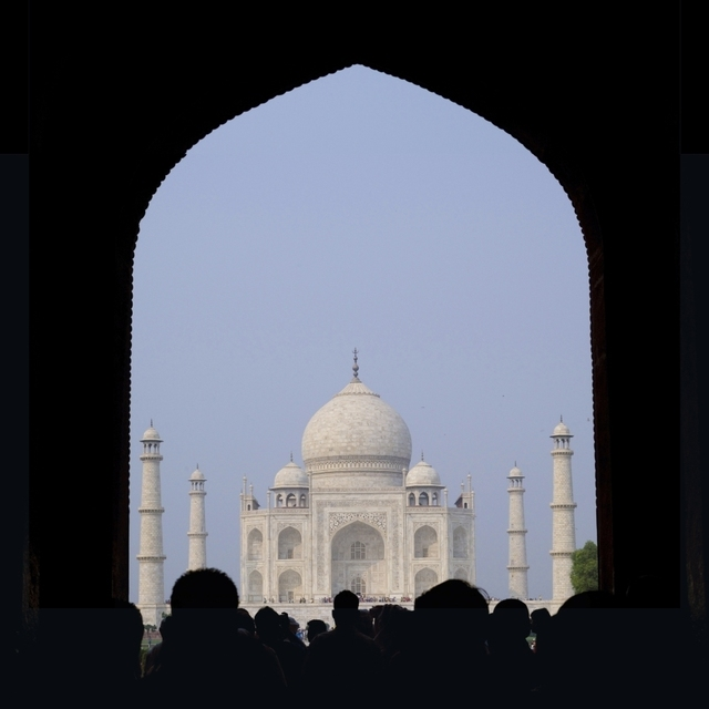 Taj Mahal  Agra India Poster Print (24 x 24)