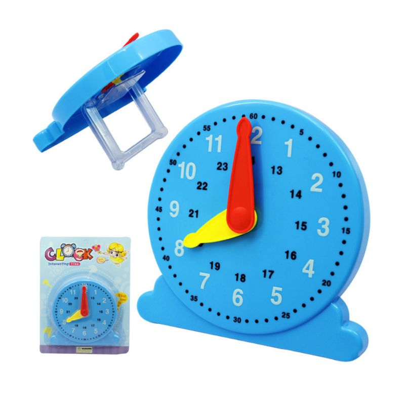 Premium New Cognition Time Clock Scientific Education Early Learning Intelligence Toy Cognitive Number Baby Children Gift