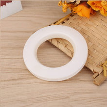 12PCS Convenient Roman Rod Curtain Low Noise Buckle Eyelet ring Accessories for Bedroom Living Room Curtain Buckle Roman Ring(China)