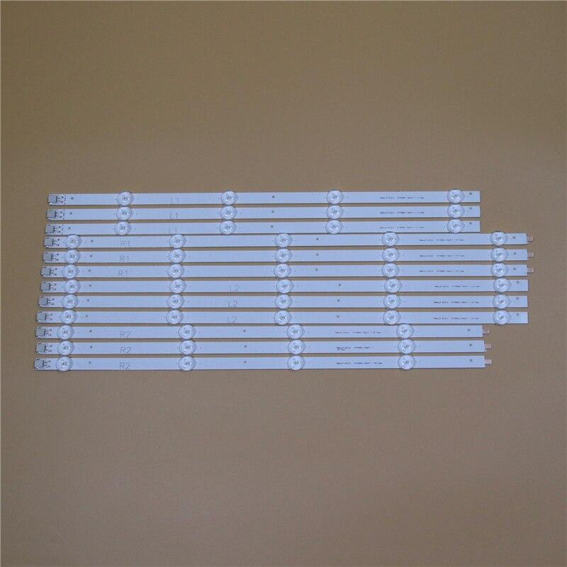 TV LED Bars For LG 47LN610S 47LN610V 47LN613S 47LN613V ZB 47 inch TVS Backlight Strips Kit