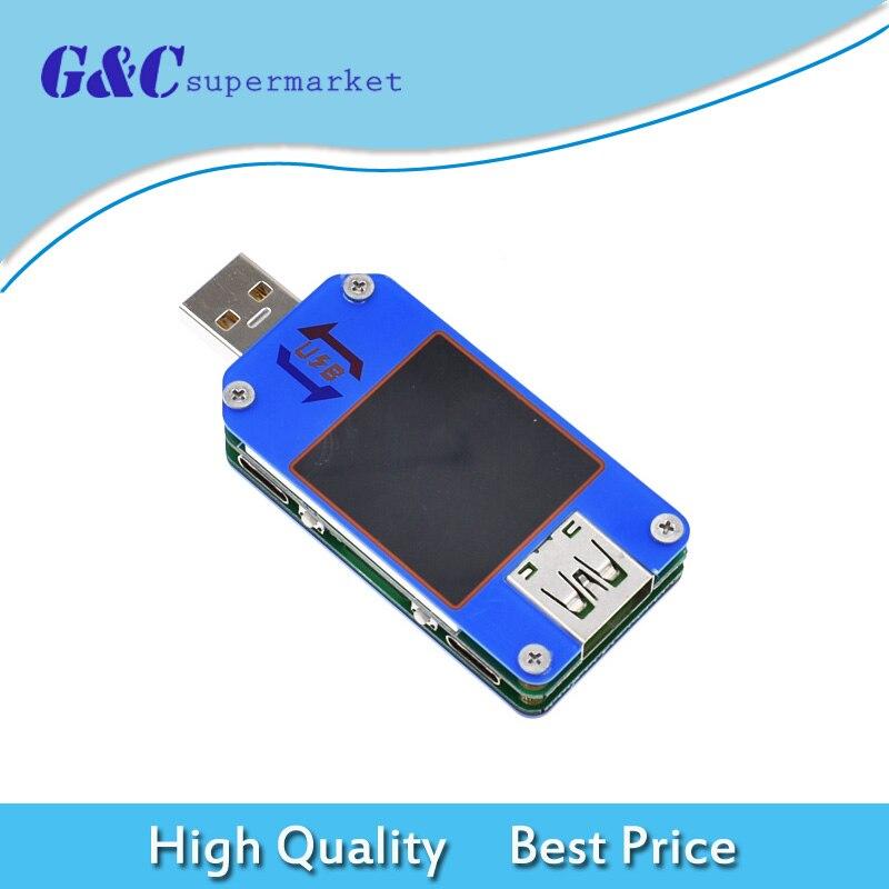 UM25C/24C UM25/24 USB 2.0 type-c couleur LCD testeur de tension compteur de courantUM25C/24C UM25/24 USB 2.0 type-c couleur LCD testeur de tension compteur de courant