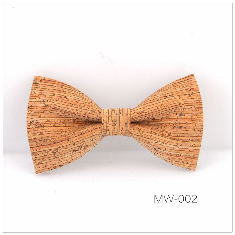 New Handmade Wooden Cork Bamboo Bow Tie Bowtie Men's Cravat 41