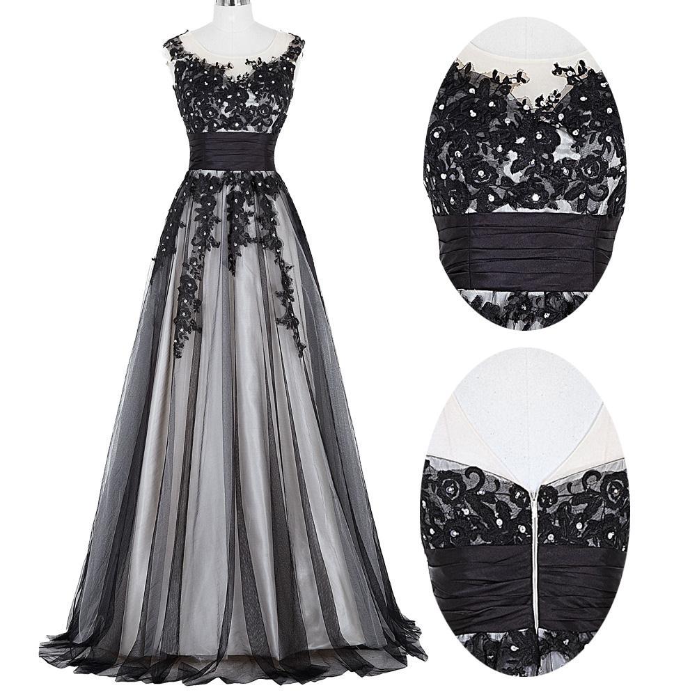 Elegant Lace Appliques Mother of the Bride Dress 12
