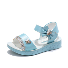 Kids Sandals For Girls Soft Beach Baby Shoes Summer Girls Shoes Bow knot Anti Slippery Princess