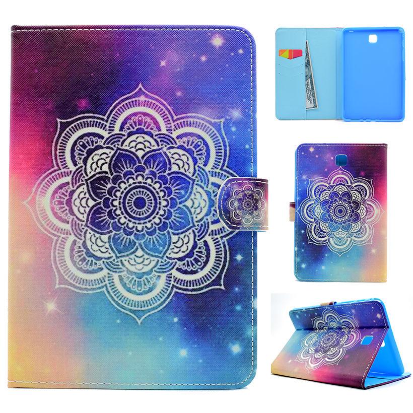 Fashion Painted Wake/Sleep Cover For Samsung Galaxy Tab A 8.0