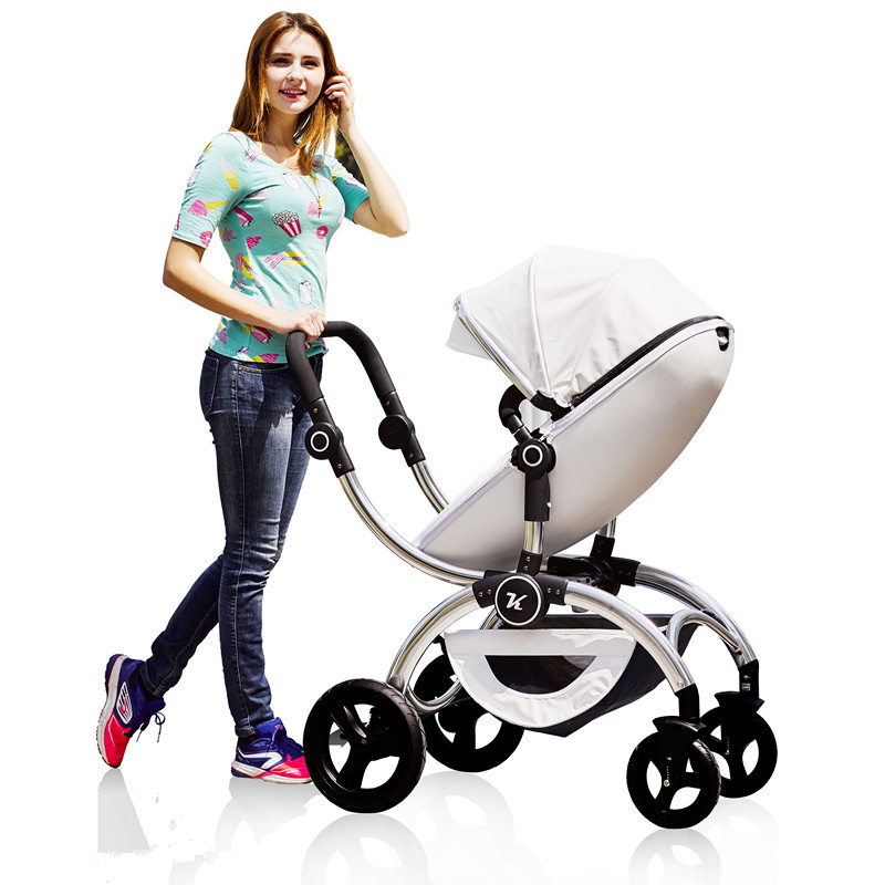 Parabebe Baby Stroller 2 In 1 Four Wheels High Landscope Big Pram Pushchair Free DeliveryParabebe Baby Stroller 2 In 1 Four Wheels High Landscope Big Pram Pushchair Free Delivery