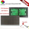 P10 открытый RGY три - 320 * 160 мм 1/4 сканирования для P10 двухцветный программируемые сообщение перемещения из светодиодов дисплей