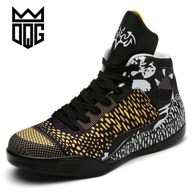 DQG Men Basketball Shoes Air Damping Men Basketball Sports Sneakers Women's Basketball Sneakers Male Outdoor Jordan Shoes