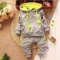 Baby Girl Boy Ropa Recién Nacido Infantil Sudadera Con Capucha Tops + Pants 2 unids Trajes Chándal Niños Que Arropan el sistema