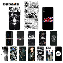 Babaite ARCTIC MONKEYS  Transparent Soft Shell Phone Cover for Apple iPhone 7 8 6 6S Plus X XS MAX 5 5S SE XR