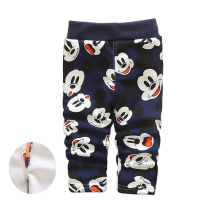 baby boy pants winter cartoon warm children trousers 2016 fashion baby girls leggings pants cute animal thickened kids clothes
