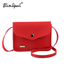 ELIM&PAUL Women Messenger Bags Ladies Retro Tote Bags Vintage Women Cross Pattern Mini Small Red Bags Bolsos Crossbody Bags A011