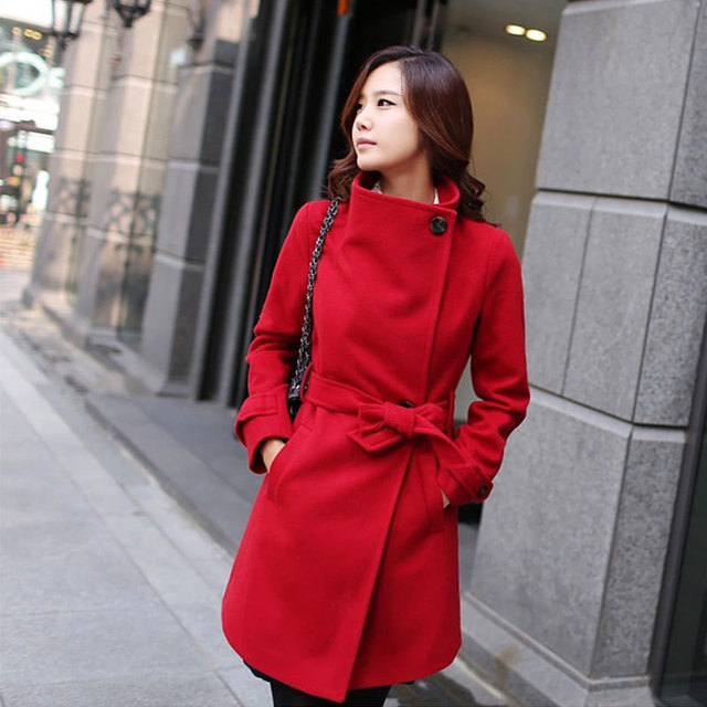 91538d6cb66d Nicesense designer womens autumn coats abrigos mujer invierno 2018 winter  coat women manteau femme hiver casaco red coat warm