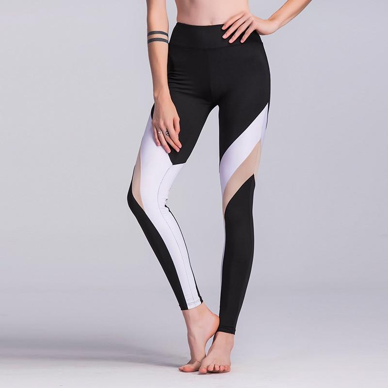 Women High Waist Yoga Pants Cross Belt Dance Tights Compression Running Leggings Skinny Fitness Sports Pants