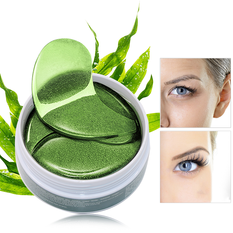 60pcs Crystal Collagen Eye Mask Gel Eye Patches for Eyes Care Sleep Masks Remover Dark Circles Anti Age Eye Bags Patch(China)