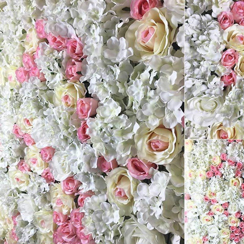 100pcs Lots 12cm Large Artificial Roses Flower Heads DIY Wedding Wall Arch Flowers Valentine s Day