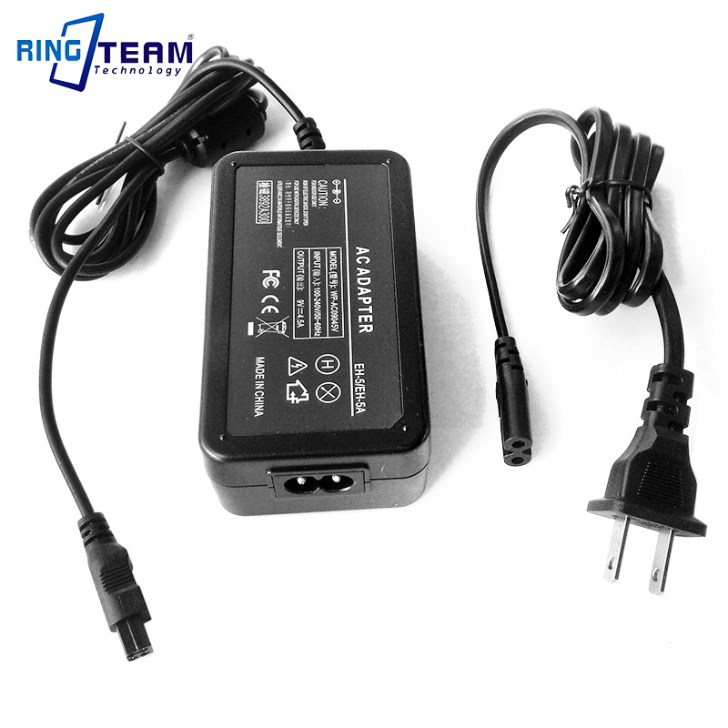 Free Shipping EH-5 EH-5A EH-5B AC Power Adapter for Nikon DSLR Cameras D50 D70 D70s D80 D90 D100 D300 D300s D700 ... 2x 2200mah en el3e enel3e battery usb charger for nikon d90 d80 d300 d300s d700 d200 d70 d50 d70s d100 d 100 d 300 d 70 d 90 slr