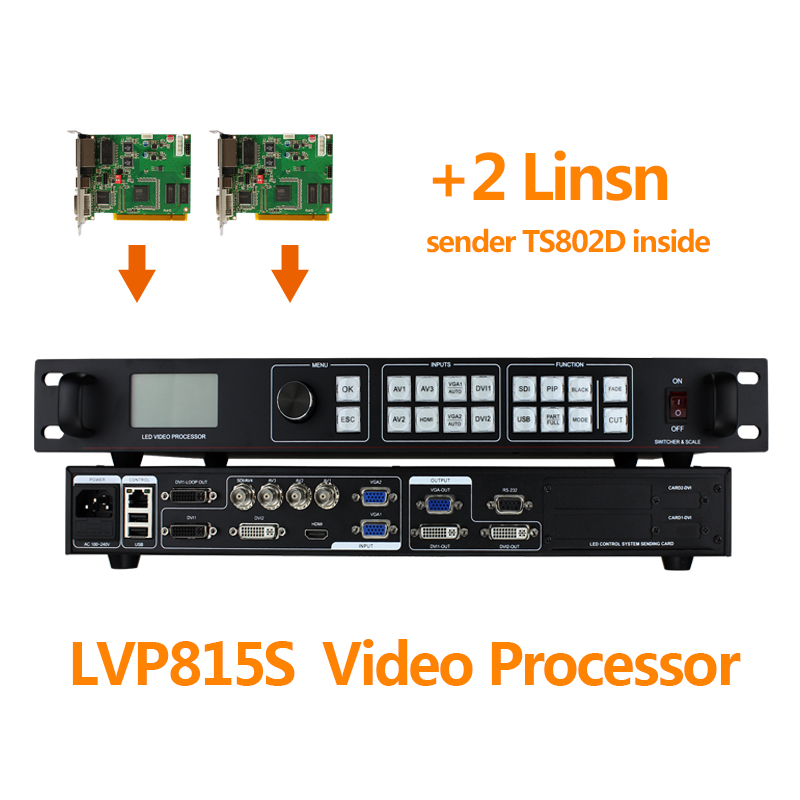 large led display video wall processor lvp815s video matrix switcher for led full video display switcher