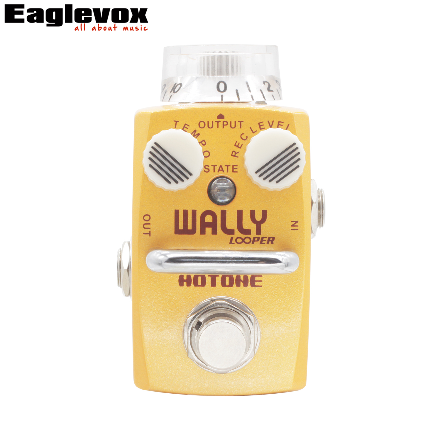 Hotone Wally Looper Mini Loop Station Overdub Record Electric Guitar Effect Pedal wally overdub record smart LED lights инструмент для наполнения маринадом joseph joseph flavourbud