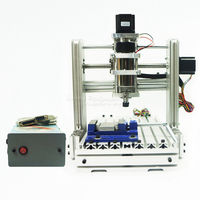 New Arrival DIY Cnc Engraver 2520 3 Axis Cnc Router With 300w Spindle For Wood Pcb