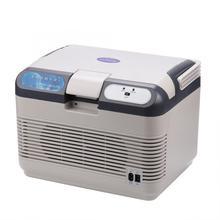 220v 12L компактный дорожный холодильник/теплый портативный мини-холодильник для автомобиля грузовика для дома и общежития