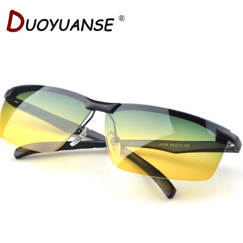 O envio gratuito de alta qualidade dia e noite óculos de condução espelho óculos  polarizados, anti-reflexo de alta feixe A106 Day   Night 06fc8096b6
